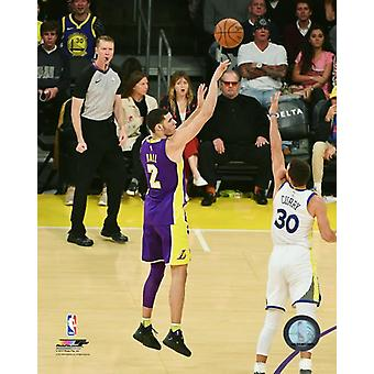 Lonzo Ball 2017-18 Action Photo Print