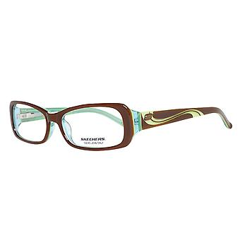 Skechers Brille Damen Braun