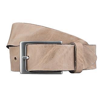 Cintura di cuoio bovino Cinture cinture pietra Brown 3525