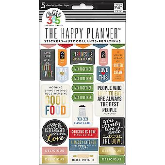 Create 365 Happy Planner Stickers 5/Sheets -Good Food