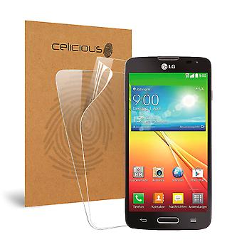 Celicious Vivid Invisible Glossy HD Screen Protector Film Compatible with LG L90 [Pack of 2]
