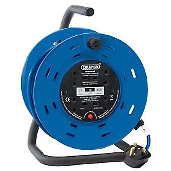 Draper 26342 25M 230V Four Socket Industrial Cable Reel
