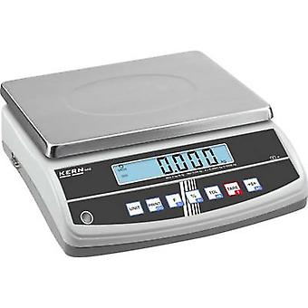 Table top scales Kern Weight range 30 kg Readability 0.2 g