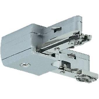 High voltage mounting rail L-shape connector Paulmann 97648 Chrome (matt)