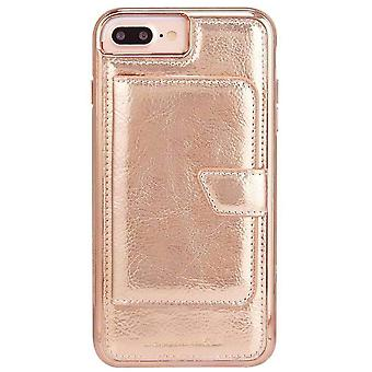 Case-Mate Compact Mirror iPhone 8/7/6s/6 Plus Case - Rose Gold