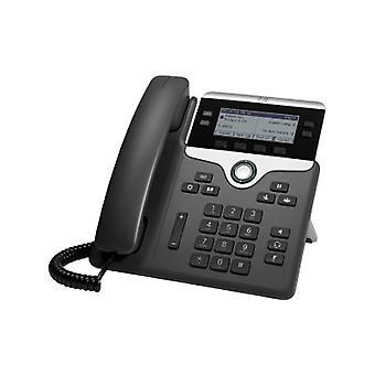 Cisco 7841 IP telefon - kabel - vegg monterbar - 4 x totale linje - VoIP-
