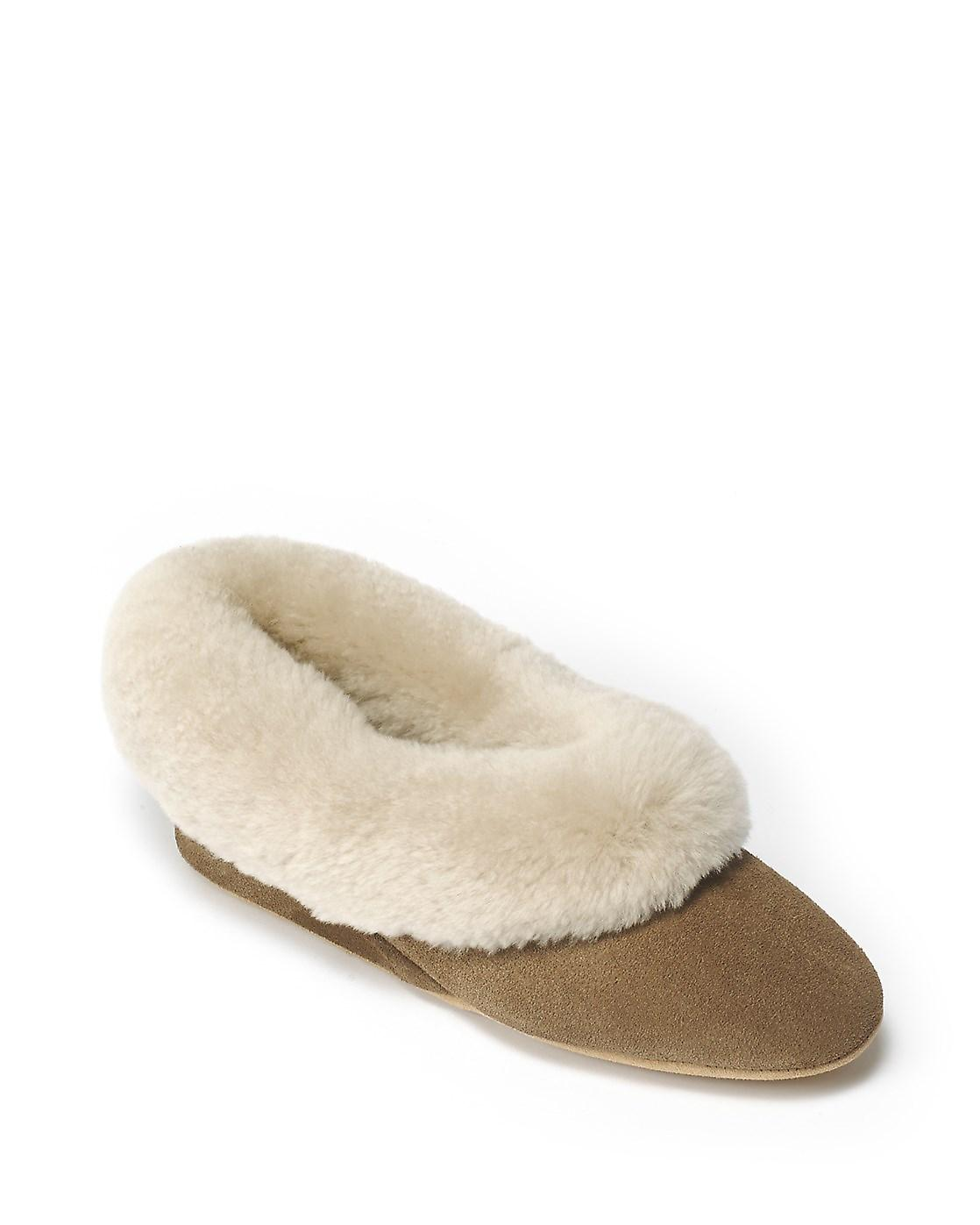 Ladies Seaforth Schapenvacht Slippers - Mole