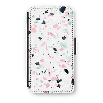 iPhone XS Flip Case - Terrazzo N°3