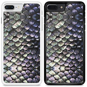 Mermaid Scale Custom Designed Printed Phone Case For Google Pixel 2 MMS2P / White