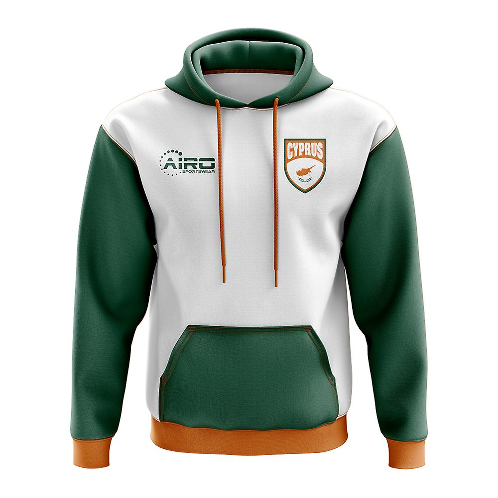 Cyprus Concept Country Football Hoody (blanc)