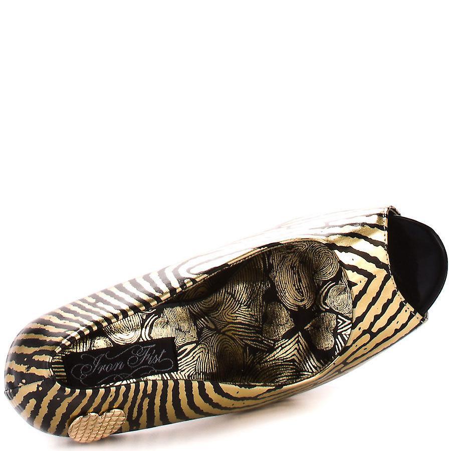 le iron fist mani piattaforma tacco peep toe scarpe d'oro d'oro d'oro | Fashionable  | Ad un prezzo accessibile  | Uomo/Donne Scarpa  36e238