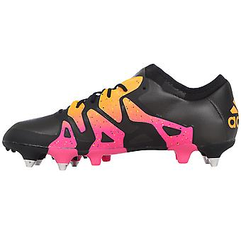 adidas Performance X 15.1 Soft Ground SG Mens Football Soccer Boots - Black