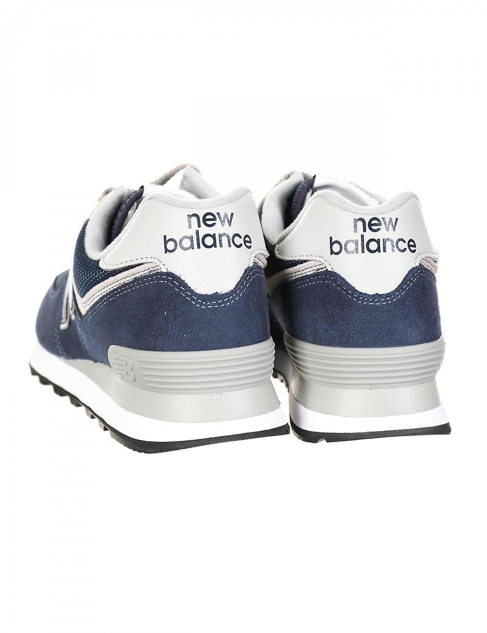 New Balance Ml574egn Trainers - Navy