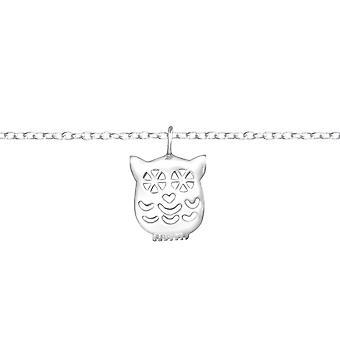 Chouette - 925 Sterling Silver Bracelets de chaîne - W37094X
