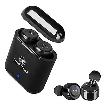 X3T Bluetooth headset with touch function-Black
