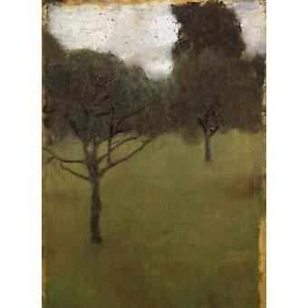 Orchard, Gustav Klimt, 39x28cm