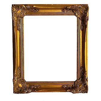 12, 5 x 17, 5 cm o 5 x 7 pulgadas marco de foto en oro