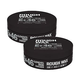 2-pack E + 46 Rough Wax 100 ml