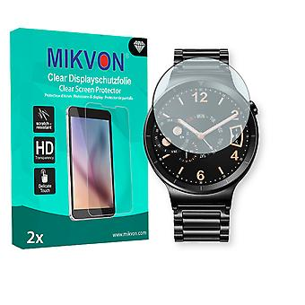 Huawei Watch Active Screen Protector - Mikvon Clear (Retail Package with accessories)