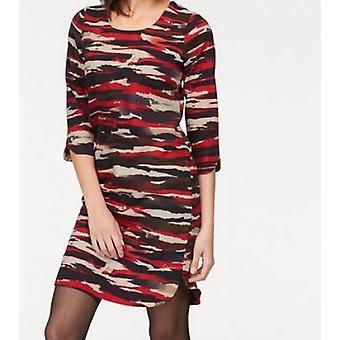 Aniston dress short Ladies Jersey dress camouflage chic multicolor