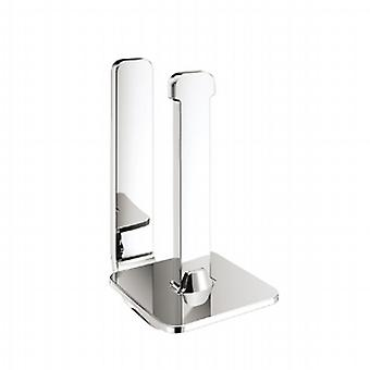 Gedy Outline Spare Toilet Roll Holder Chrome 3224 02 13