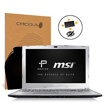 Celicious Privacy Plus Anti-Spy 4-fach Filter Screen Protector Film kompatibel mit MSI Prestige PE62 8RD