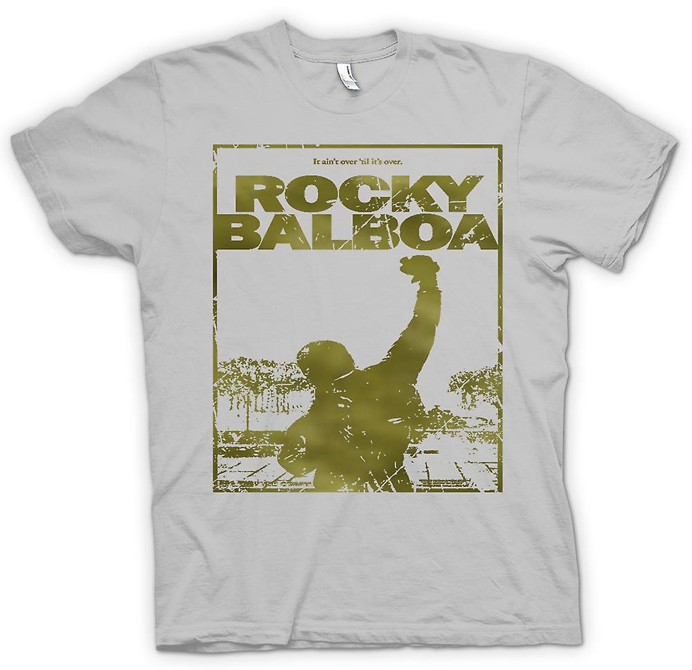 Mens T-shirt-Rocky Balboa Punch - Film - lustig
