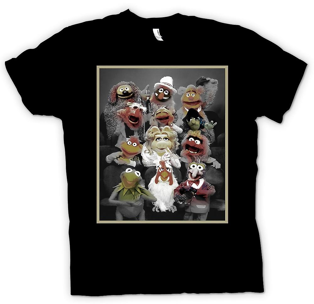 Mens t-skjorte - Muppets Gang - klassiske TV-showet