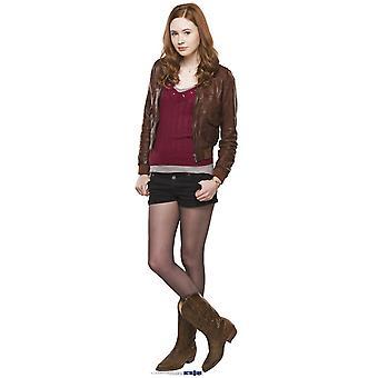 Amy Pond (Karen Gillan) - BBC Doctor Who / Dr der / Dr. der - Lifesize pap påklædningsdukke / Standee