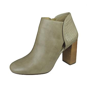 Geox D Audalies H B Womens Wax Leather Ankle Boots - Taupe