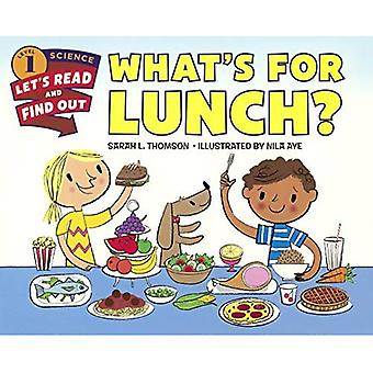 What's for Lunch? (Let's-Read-And-Find-Out Science: Stage 1 (Paperback))