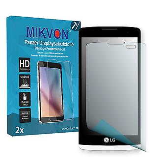 LG Leon Screen Protector - Mikvon Armor Screen Protector (Retail Package with accessories)