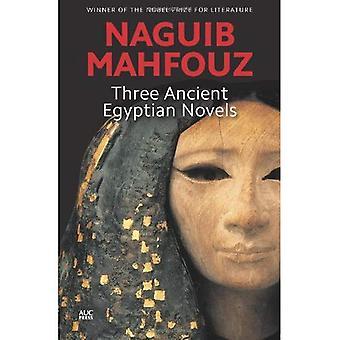 Tre romanzi egiziane antiche: Saggezza di Khufu, Rhadopis di Nubia, Tebe in guerra