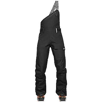 Wearcolour Black Lynx Womens Snowboarding Dungarees