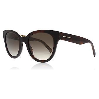 Marc Jacobs Marc231/S DXH Havana / Gold Marc231/S Round Sunglasses Lens Category 2 Size 50mm