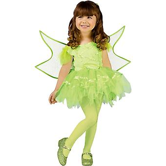 Green Fairy Toddlers Costume