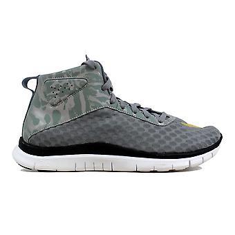 Nike Free Hypervenom Mid FC Cool Grey/Gold-White-Black  Men's 725128-001 Size 8.5 Medium