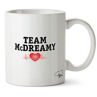 Hippowarehouse Team Mcdreamy Printed Mug Cup Ceramic 10oz