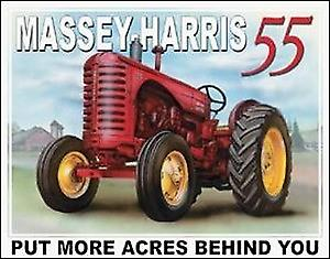 Massey Harris 55 Tractor metal Sign  (de)