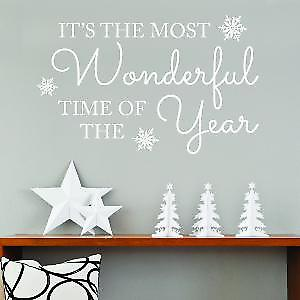 It's the most wonderful time of year Wall Sticker