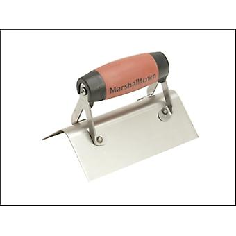 68SSD EXTERNAL CORNER TROWEL STAINLESS STEEL DURASOFT HANDLE ROUNDED