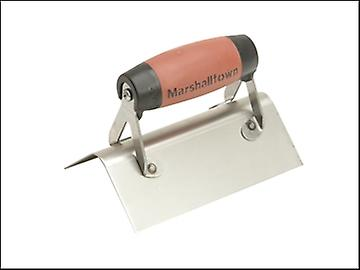 Marshalltown 68SSD External Corner Trowel Rounded Stainless Steel DuraSoft Handle