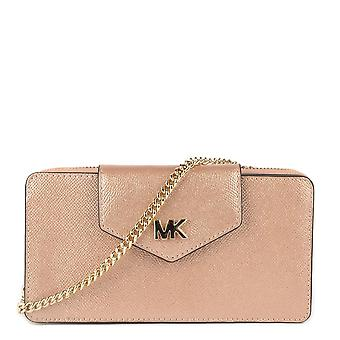 MICHAEL by Michael Kors Ballet 'rose Gold' Leather Small Convertible Crossbody