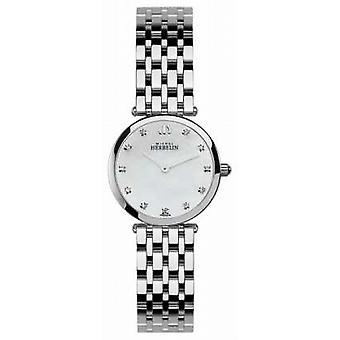 Michel Herbelin Womens Epsilon, Stone-Set, Pearl Dial 1045/B59 Watch