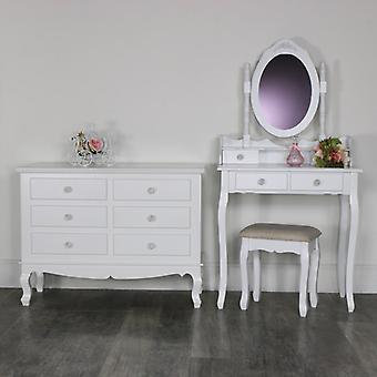 Bedroom Set, Dressing Table Set and Chest of Drawers  - Lila Range