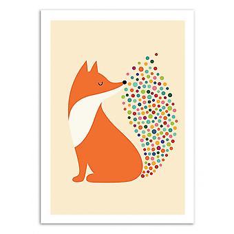 Art-Poster - Little Fire - Andy Westface 50 x 70 cm