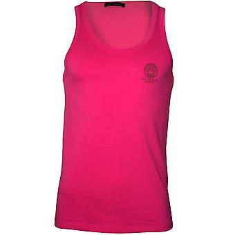 Versace Iconic Tank Top Vest, Hot Pink
