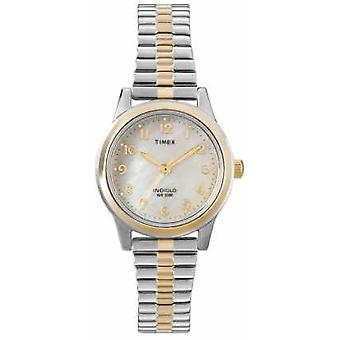 Timex Ladies Two Tone Dress Expander T2M828 Watch