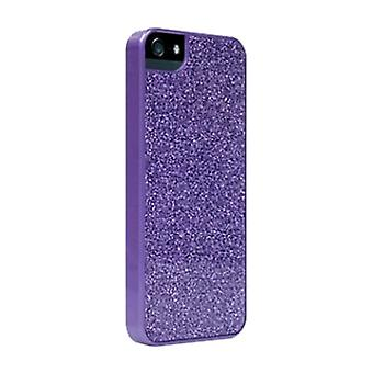 PopnGo Hard Cover Case for iPhone 5 - Purple Sparkle