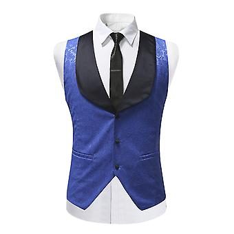 Allthemen Hommes Tuxedoes Costume Vest Shawl Collar Slim Fit Casual Vest